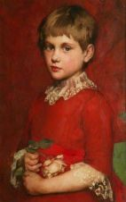 Dacre, Susan Isabel, 1844-1933; A Girl (Bertha Edgar)