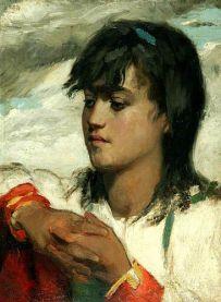 Dacre, Susan Isabel, 1844-1933; Italian Child