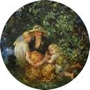 mrs-a-scott-elliot-and-children-canvas-only-T
