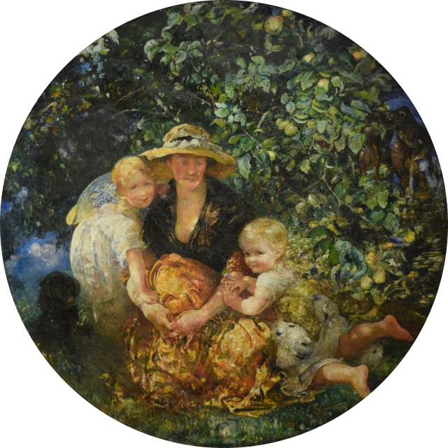 mrs-a-scott-elliot-and-children-canvas-only-WM