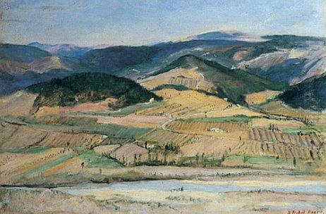 Dacre, Susan Isabel, 1844-1933; The Paglia from Orvieto, Italy