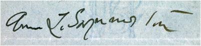 1907 letter to flora lion