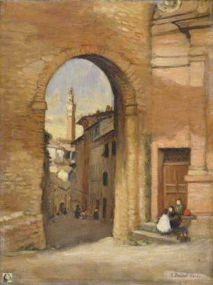 Dacre, Susan Isabel, 1844-1933; Gateway at Siena