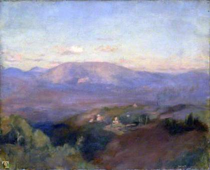 Dacre, Susan Isabel, 1844-1933; Assisi from Perugia