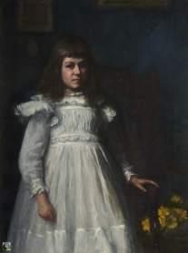 Dacre, Susan Isabel, 1844-1933; Portrait of a Girl