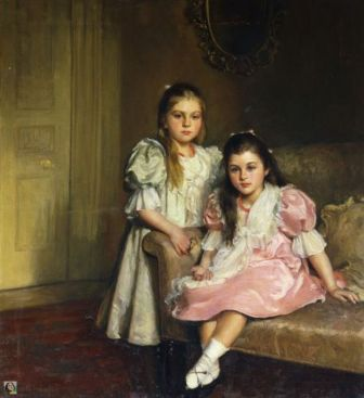 The Daughters of Lawrence Pilkington (1900)