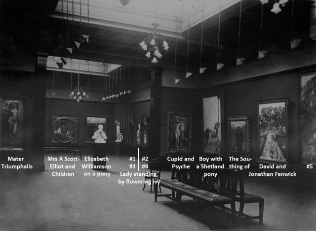 1923 exhibition - photo 1 with names
