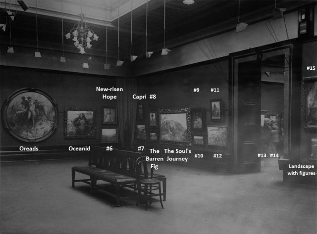 1923 exhibition - photo 2 with names