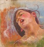 Head of a Woman T