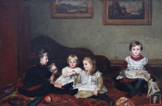interior-with-four-children-canvas-WM