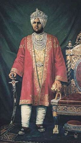 Frederick Swynnerton - 1890 The Maharaja of Kapurthala