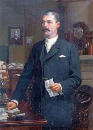 Frederick Swynnerton - 1896 Portrait of A. M. Ker Esq., Simla, India